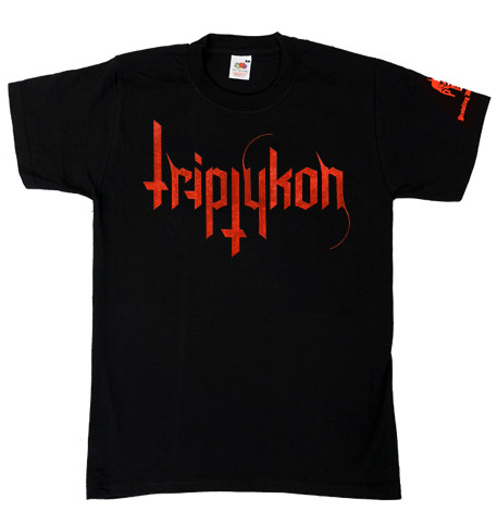 Tritptykon Red Logo T-Shirt
