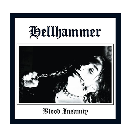 Hellhammer Blood Insanity 7Inch - red